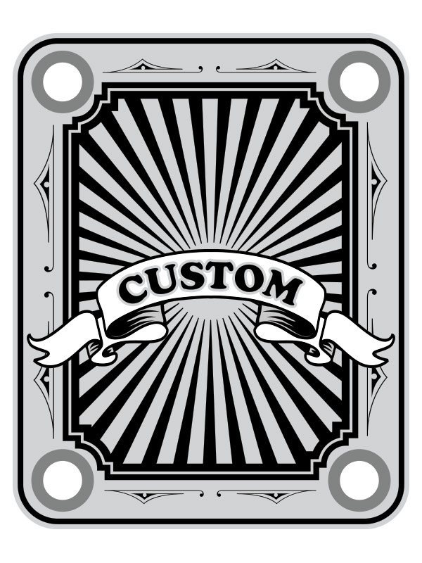 Custom Sun Neckplate