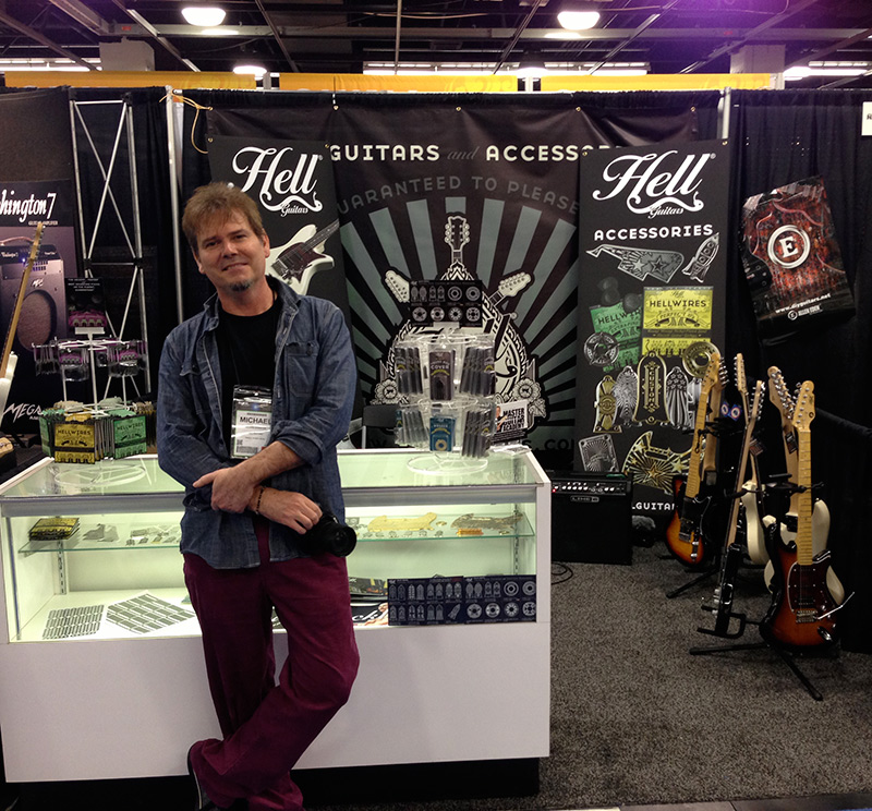 Hell Guitars at NAMM